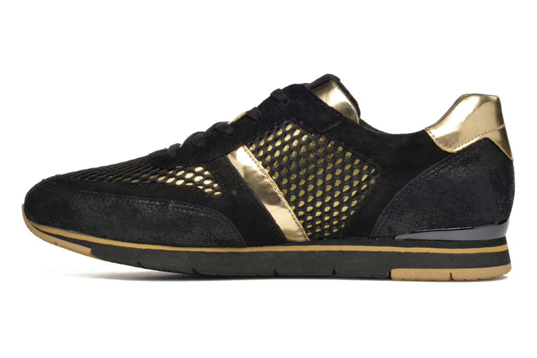 Sneakers Gabor Jeanne Zwart voorkant