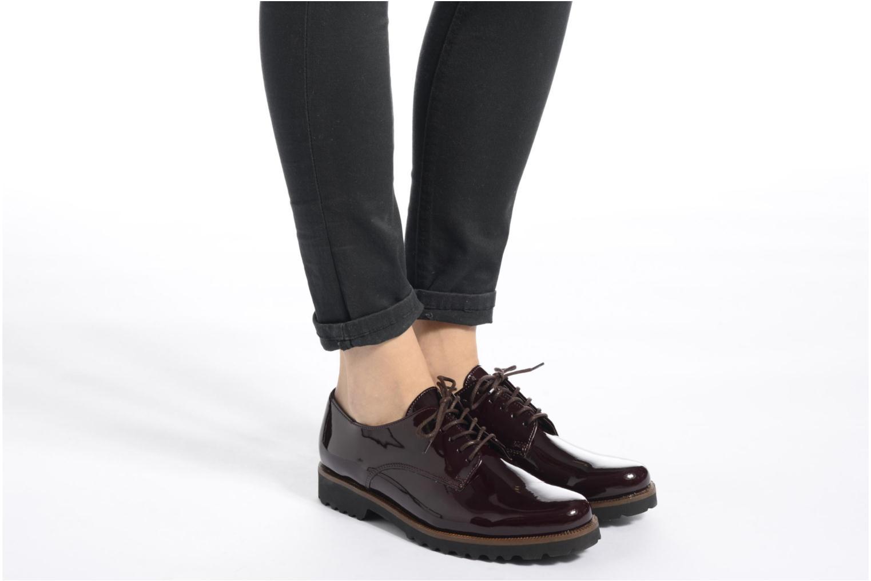 Zapatos con cordones Gabor Brie Vino vista de abajo
