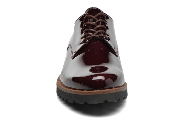 Chaussures à lacets Gabor Brie Bordeaux vue portées chaussures