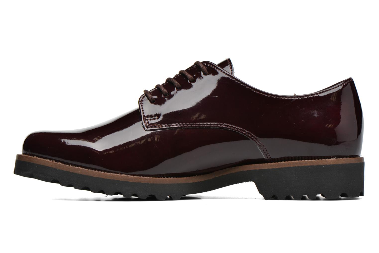 Chaussures à lacets Gabor Brie Bordeaux vue face