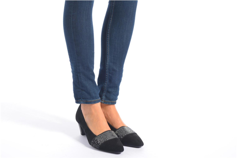 Zapatos de tacón Gabor Gabriella Negro vista de abajo