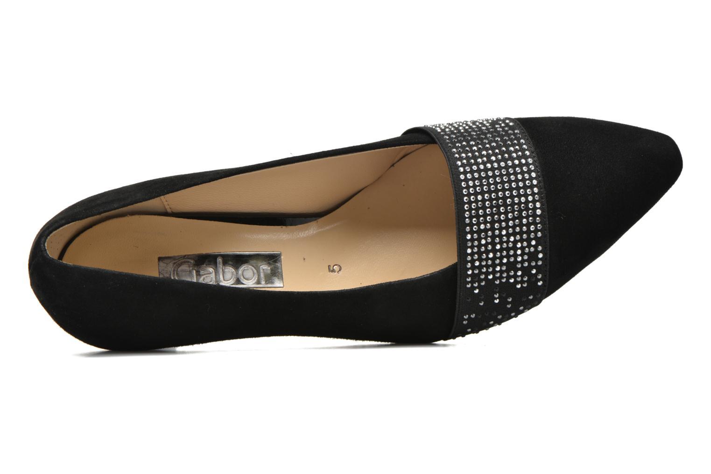 Zapatos de tacón Gabor Gabriella Negro vista lateral izquierda
