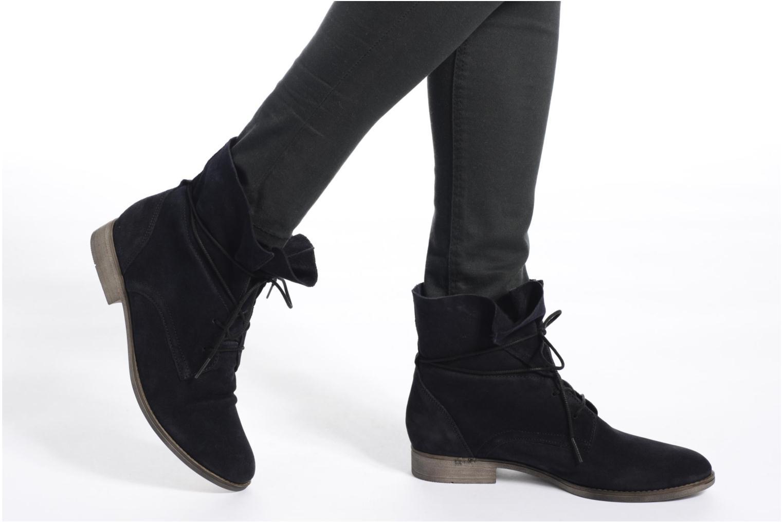 Bottines et boots Gabor Marion Bleu vue bas / vue portée sac