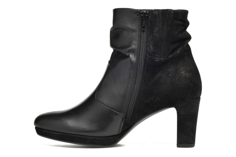 Bottines et boots Gabor Nizza Noir vue face