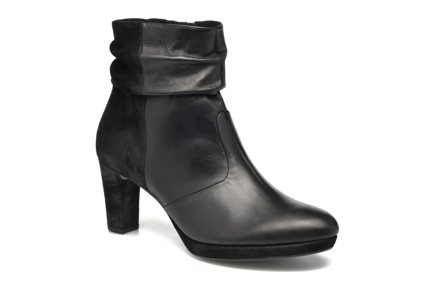 Ankle boots Gabor Nizza Black detailed view/ Pair view