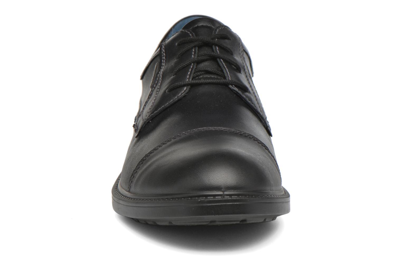 Schnürschuhe Josef Seibel Harry 11 schwarz schuhe getragen