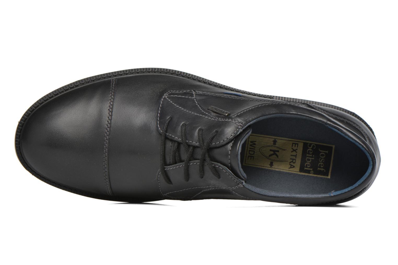 Chaussures à lacets Josef Seibel Harry 11 Noir vue gauche