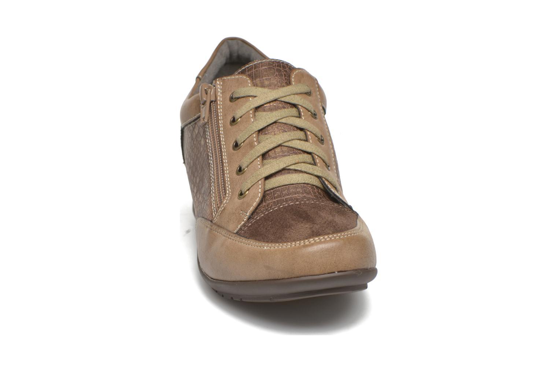 Baskets Sweet Buenel Or et bronze vue portées chaussures
