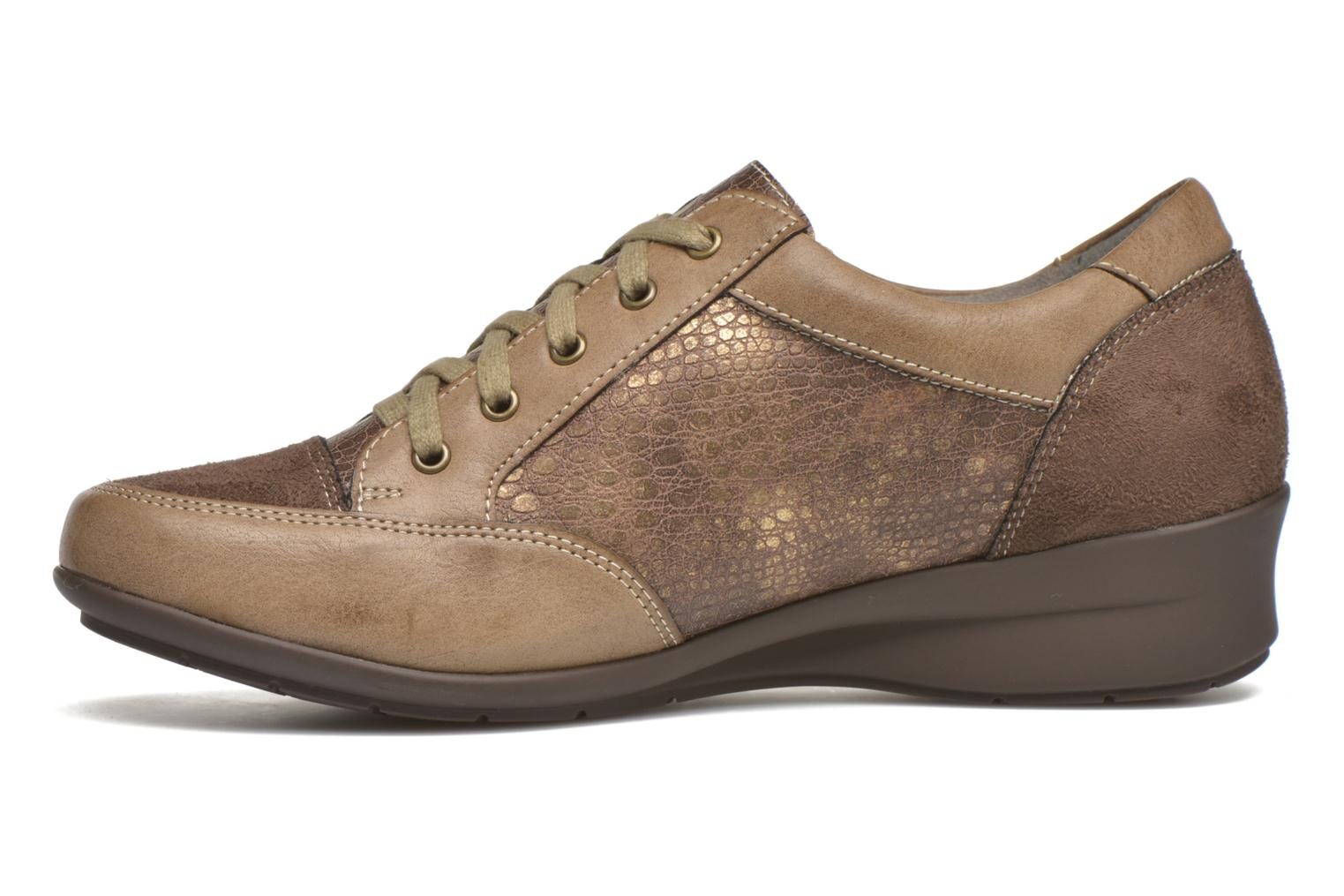 Trainers Sweet Buenel Bronze and Gold front view
