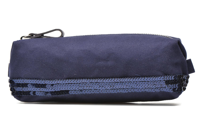School bags Vanessa Bruno Trousse paillettes toile Blue detailed view/ Pair view