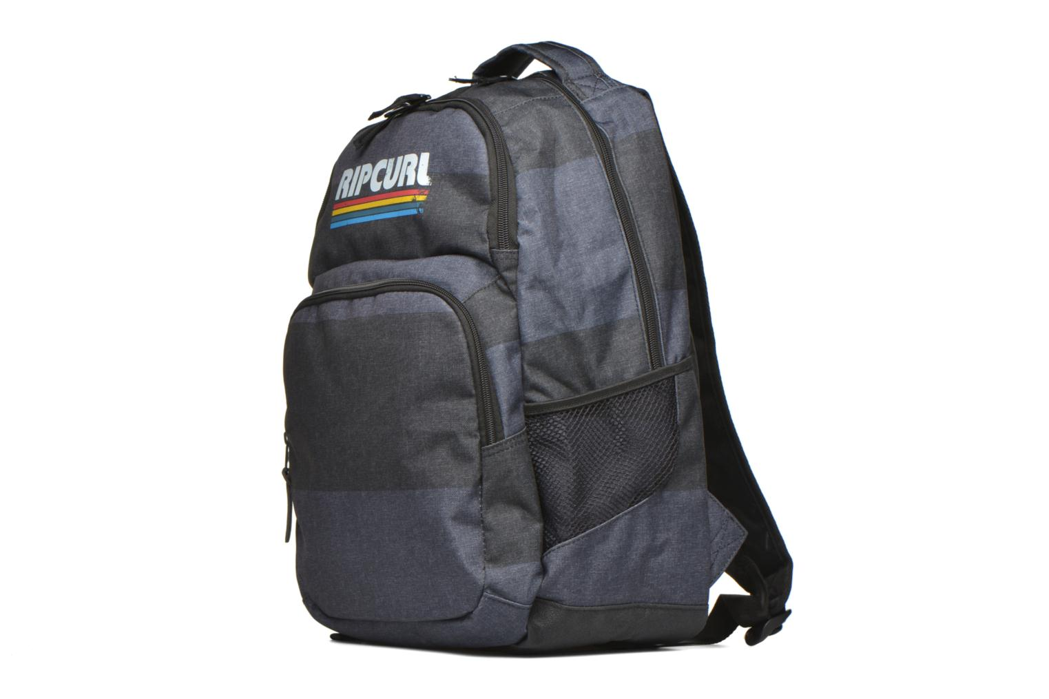Mochilas Rip Curl Modern Retro Double up Sac à dos 2 compartiments Gris vista del modelo