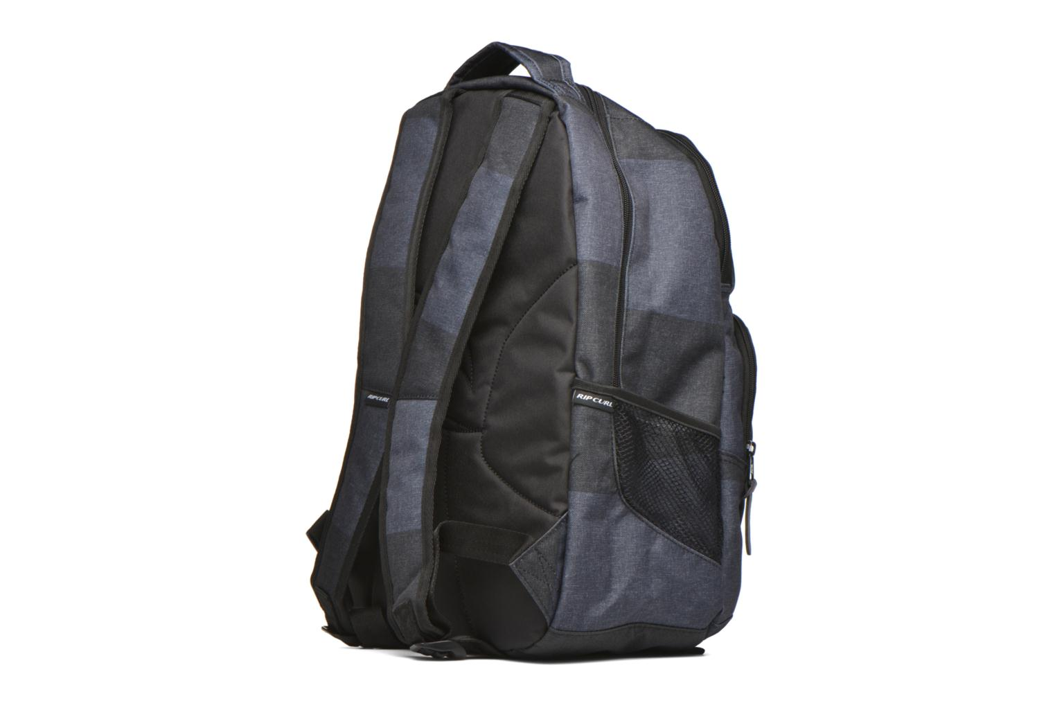 Mochilas Rip Curl Modern Retro Double up Sac à dos 2 compartiments Gris vista lateral derecha