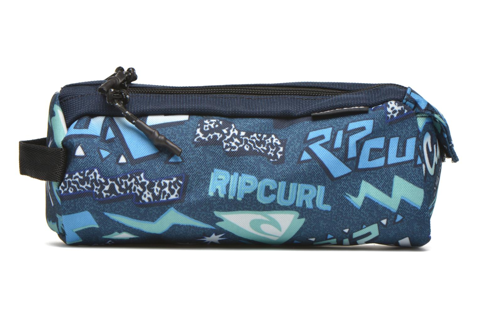School bags Rip Curl Neon Vibes Trousse double Blue detailed view/ Pair view