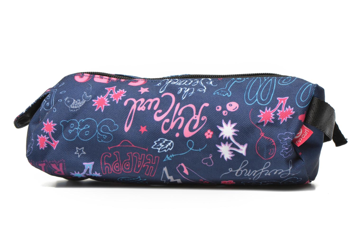 Star Lettering Trousse double Blue