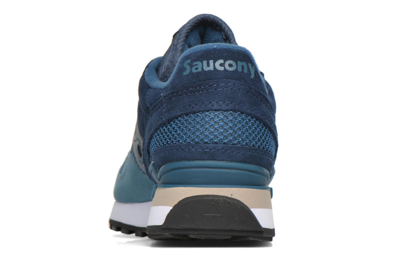 Sneaker Saucony Shadow Original Suede W blau ansicht von rechts