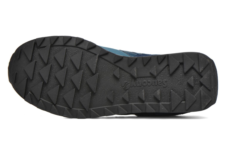 Sneaker Saucony Shadow Original Suede W blau ansicht von oben