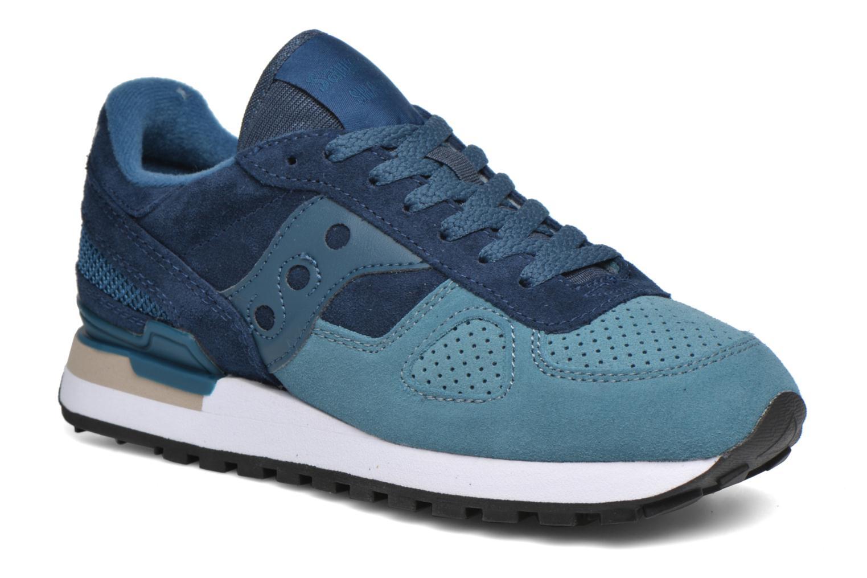 Sneaker Saucony Shadow Original Suede W blau detaillierte ansicht/modell