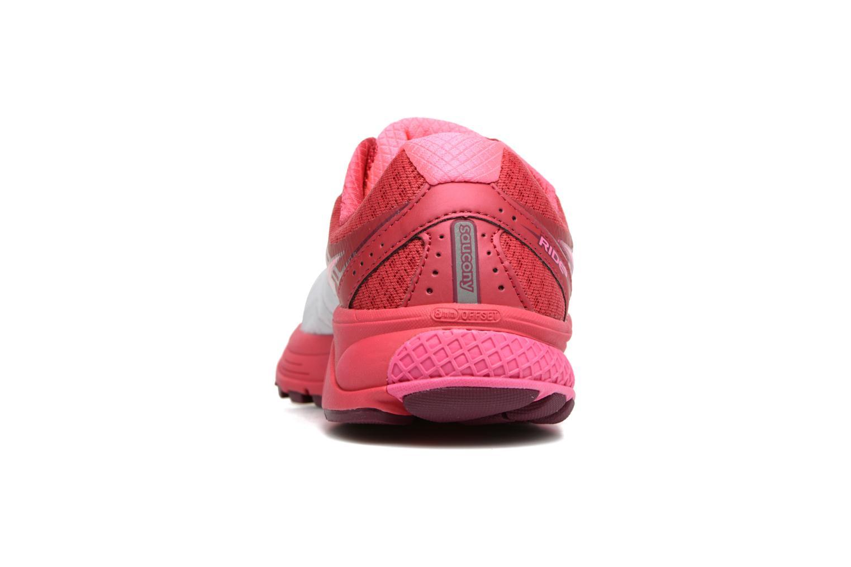 Zapatillas de deporte Saucony Ride 9 W Rosa vista lateral derecha