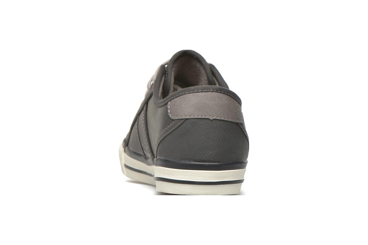 Trainers Mustang shoes Pluy Grey view from the right