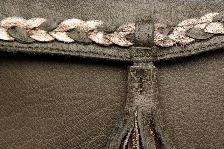 Sacs à main Pieces POFO Leather Crossbody bag Vert vue gauche