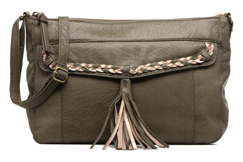 POFO Leather Crossbody bag khaki