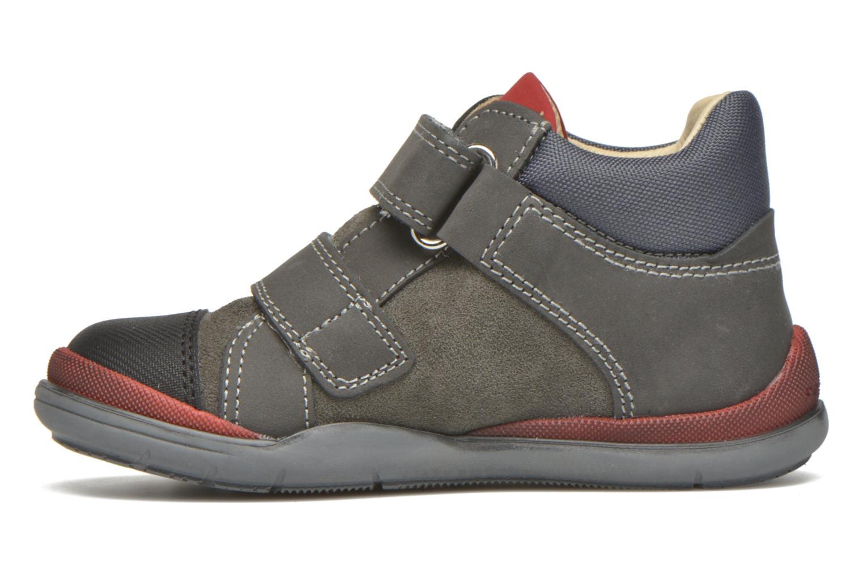 Zapatos con velcro Primigi Tristan Gris vista de frente