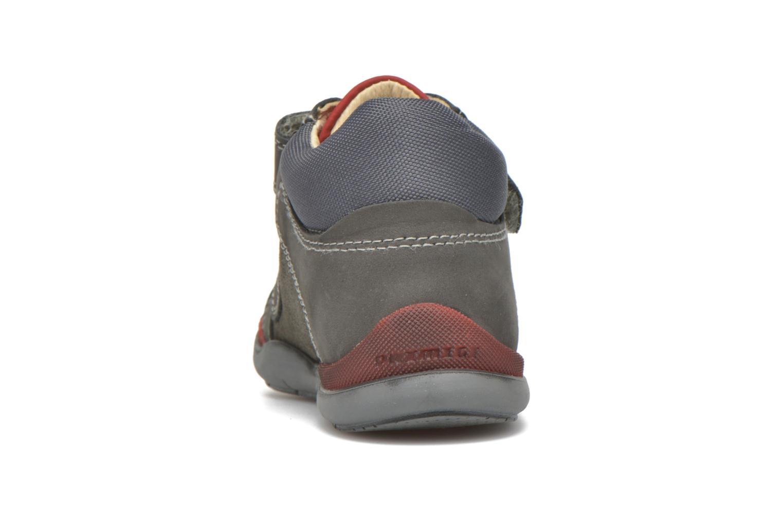 Zapatos con velcro Primigi Tristan Gris vista lateral derecha