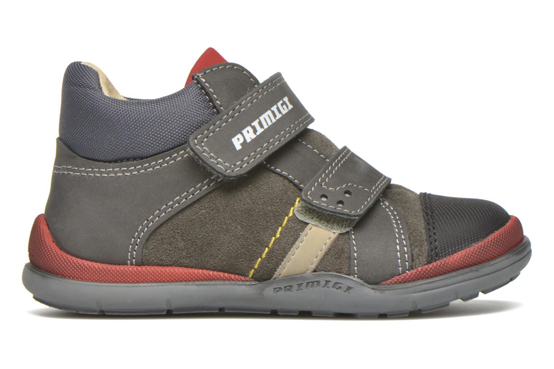 Zapatos con velcro Primigi Tristan Gris vistra trasera