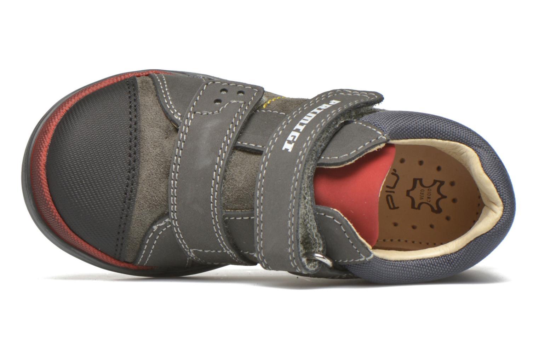Zapatos con velcro Primigi Tristan Gris vista lateral izquierda