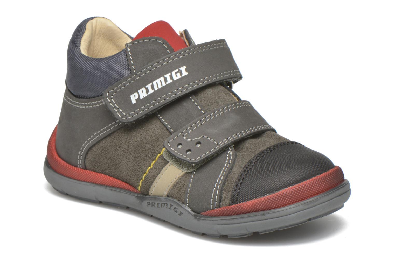 Zapatos con velcro Primigi Tristan Gris vista de detalle / par
