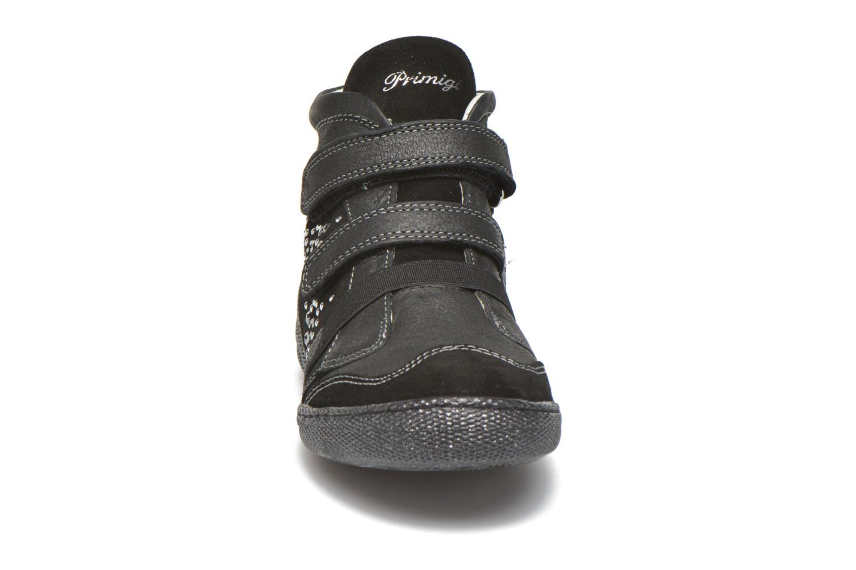 Chaussures à scratch Primigi Hulda 2-E Noir vue portées chaussures