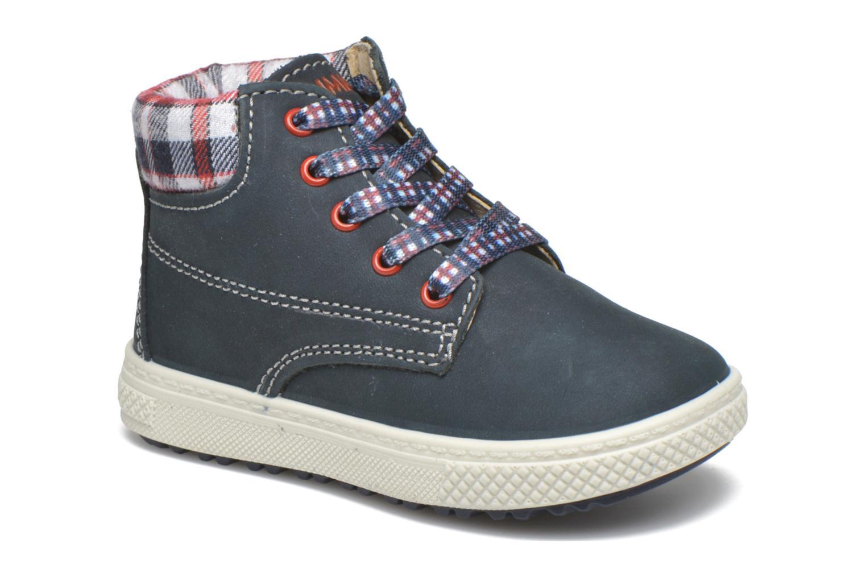 Bottines et boots Primigi One Bleu vue détail/paire