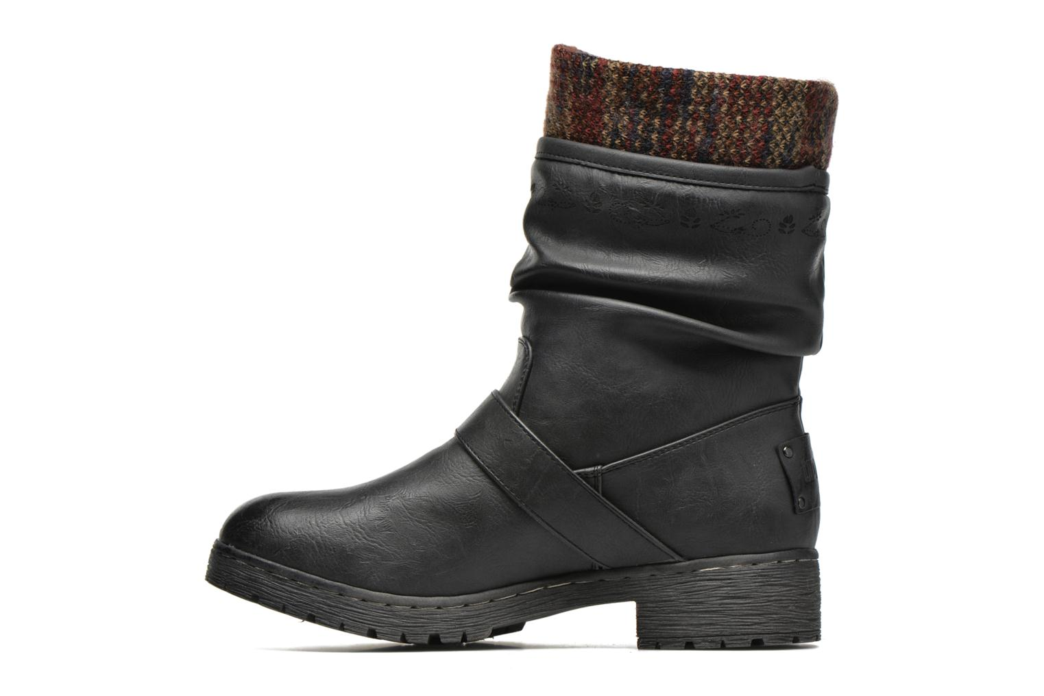 Bottines et boots Coolway Babel Noir vue face