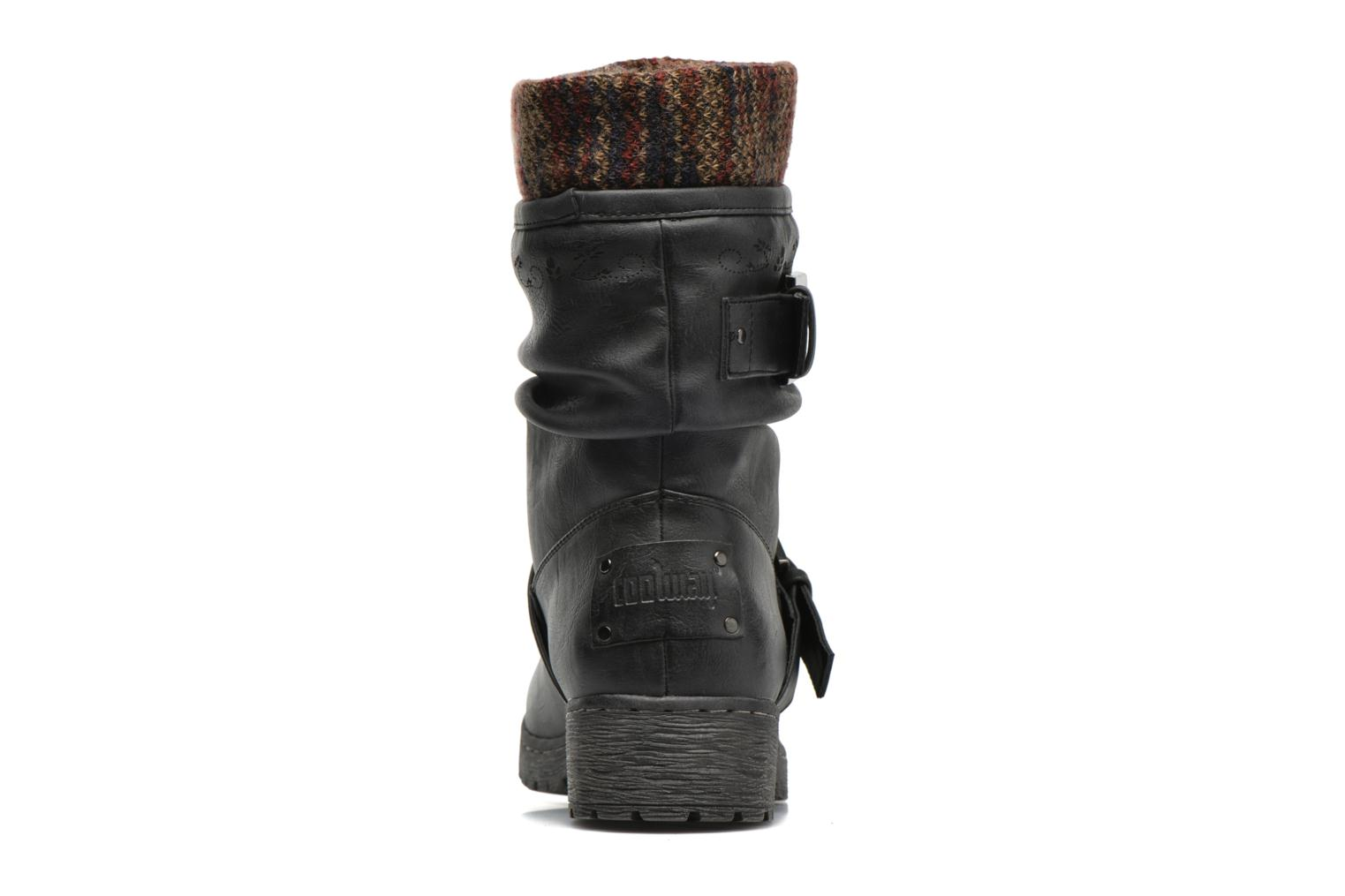 Ankle boots Coolway Babel Black view from the right