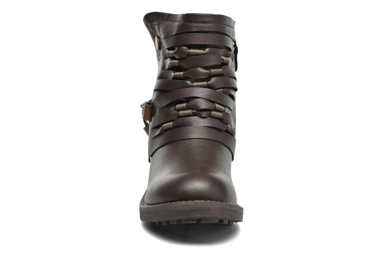 Stiefeletten & Boots Coolway Baru braun schuhe getragen