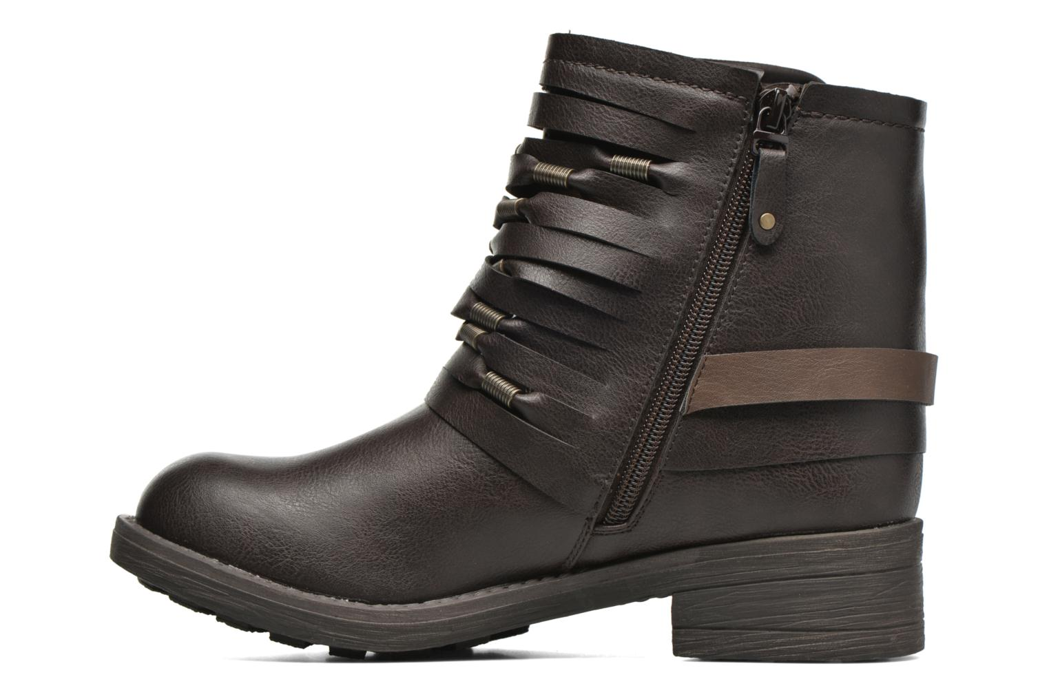 Bottines et boots Coolway Baru Marron vue face