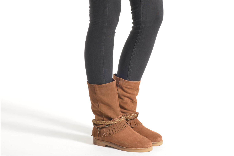 Bottines et boots Coolway Biara Vert vue bas / vue portée sac