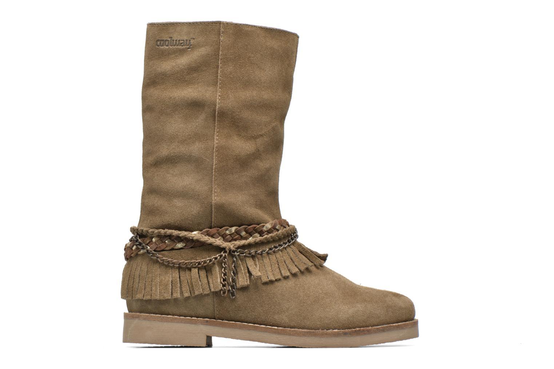 Bottines et boots Coolway Biara Vert vue derrière