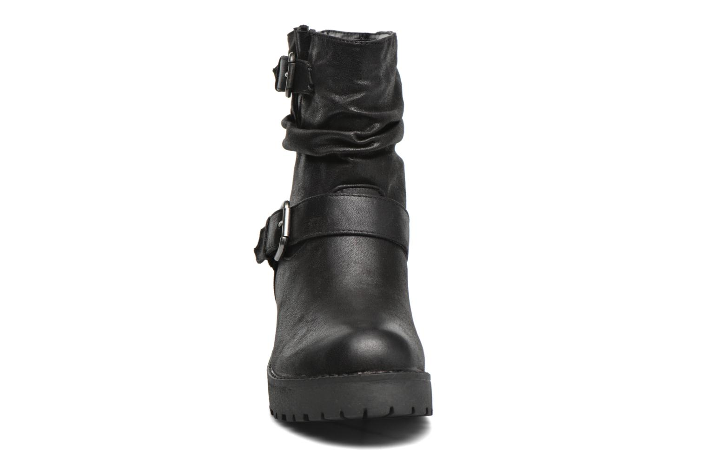 Stiefeletten & Boots Coolway Biker schwarz schuhe getragen