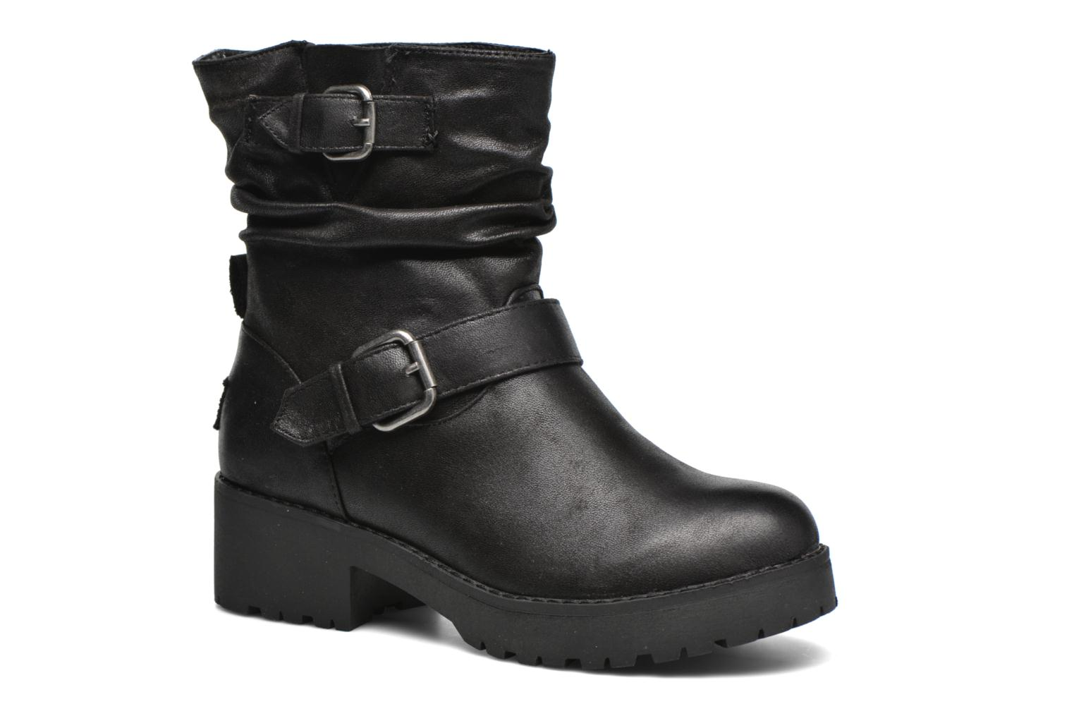 Ankle boots Coolway Biker Black detailed view/ Pair view