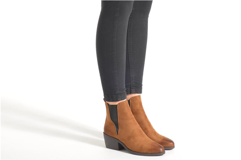 Stiefeletten & Boots Coolway Bowen braun ansicht von unten / tasche getragen