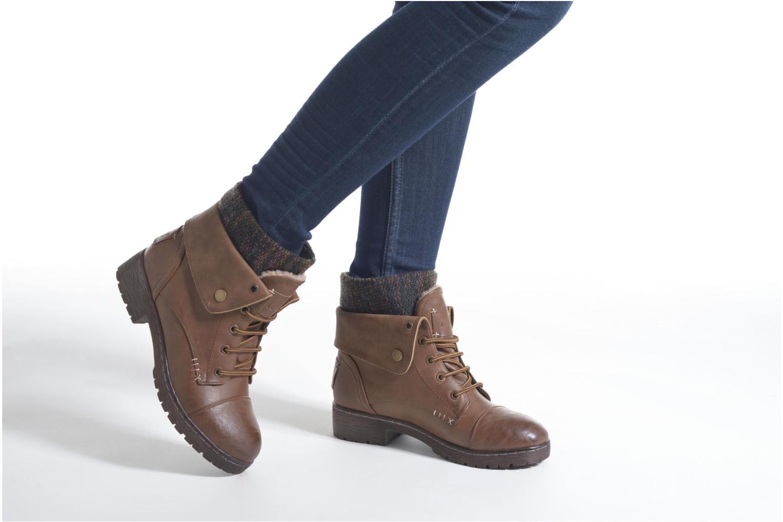 Bottines et boots Coolway Bringit Noir vue bas / vue portée sac