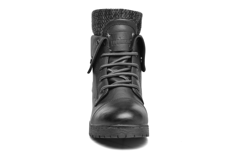 Bottines et boots Coolway Bringit Noir vue portées chaussures