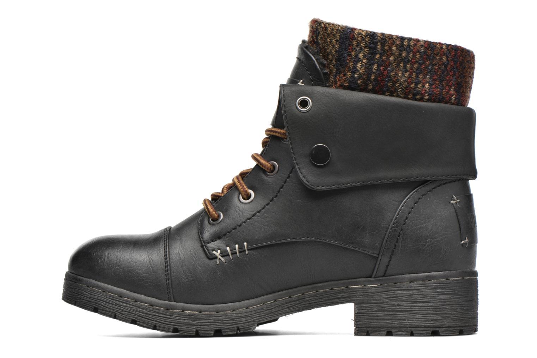 Bottines et boots Coolway Bringit Noir vue face