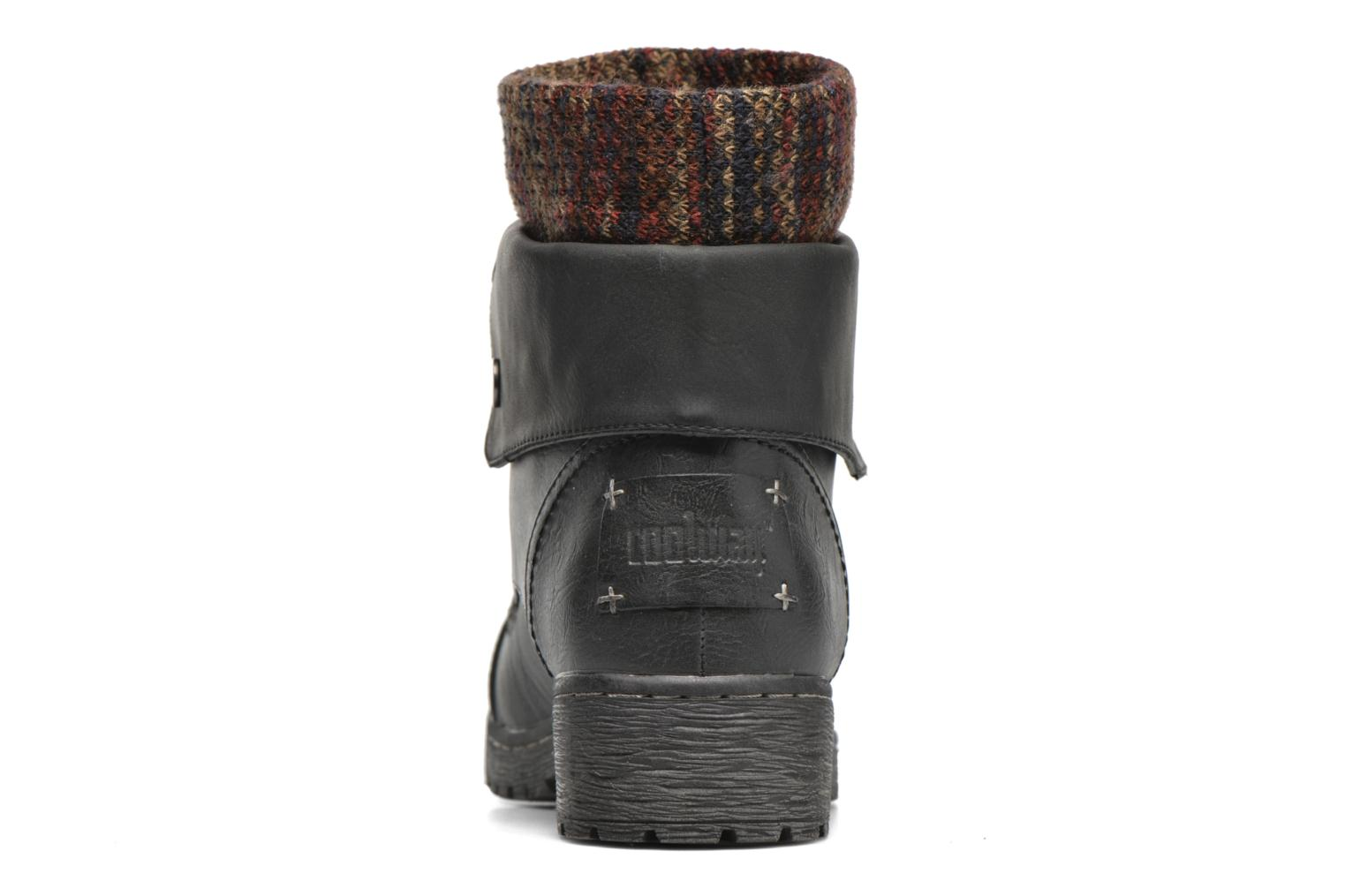 Ankle boots Coolway Bringit Black view from the right