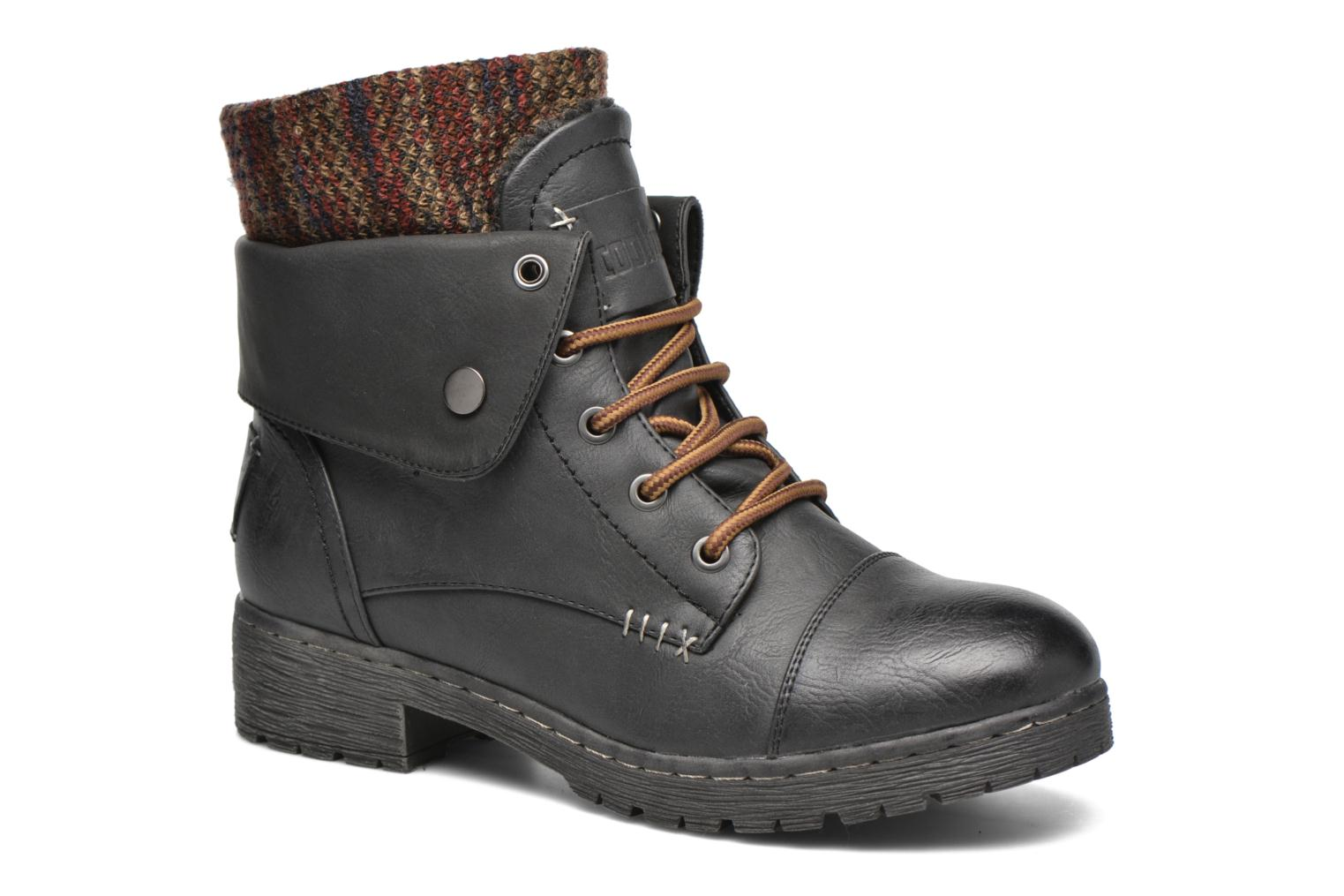 Ankle boots Coolway Bringit Black detailed view/ Pair view