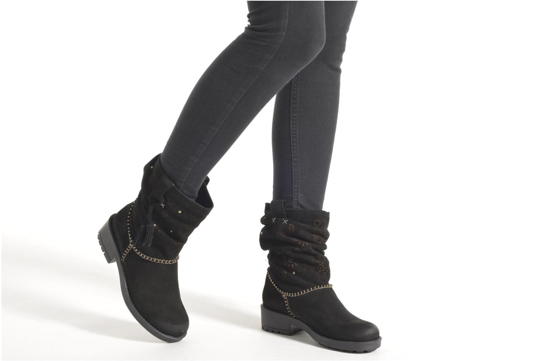 Bottines et boots Coolway Brisi Noir vue bas / vue portée sac