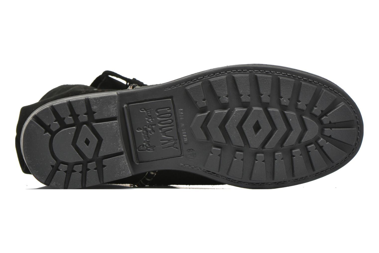 Bottines et boots Coolway Brisi Noir vue haut
