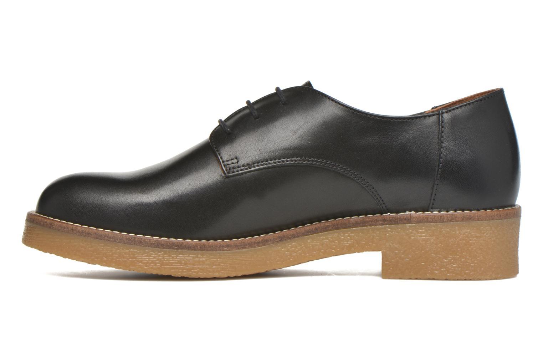 Zapatos con cordones Georgia Rose Lucreppy Negro vista de frente