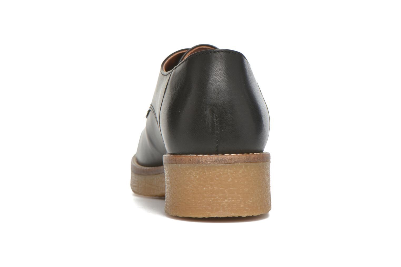 Zapatos con cordones Georgia Rose Lucreppy Negro vista lateral derecha
